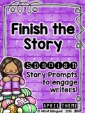 Finish the Story - April Edition {SPANISH}