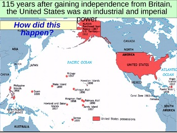 UNIT 10 LESSON 10. Imperialism by the United States POWERPOINT