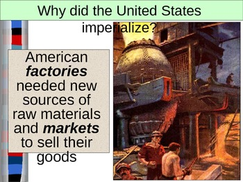 WORLD UNIT 10 LESSON 10. Imperialism by the United States POWERPOINT