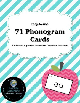 71 Phonogram Cards