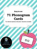 71 Phonogram Cards