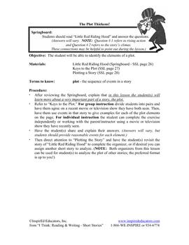 7102-4 Elements of Plot