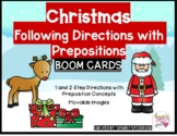 Christmas Themed Following Directions with Prepositions BO