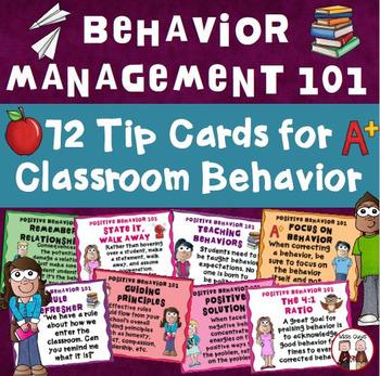 Managing Classroom Behavior Tips
