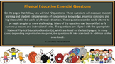 72 Physical Education Essential Questions