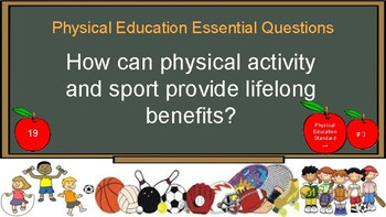 Preview Physical Education Essential Questions