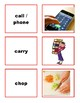 72 Regular Verbs Game Cards - CANADIAN Spelling