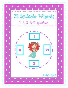 72 Syllable Wheels
