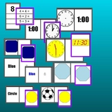 72 Task Boxes shapes, color, time, math, writing, literacy