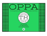 VOICELESS TH WRITTEN ARTICULATION CARDS (WORDS + PHRASES + SENTENCES)