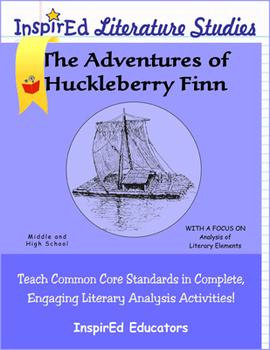 7202 Adventures of Huckleberry Finn - Complete Literature Unit