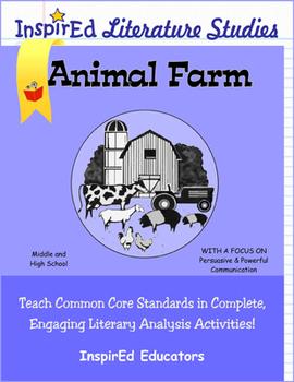 7205 Animal Farm Complete Literature Unit
