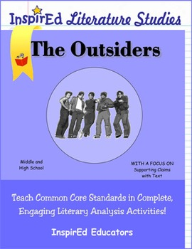 7207 The Outsiders Complete Literature Unit