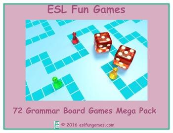 72 Grammar Board Games Mega Game Bundle