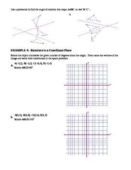 7.3 Rotations (B)