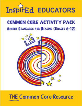 7303 Common Core Activity Pack (Anchor Reading 6-12)