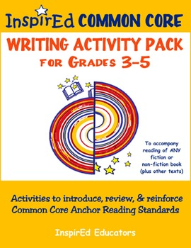 7305 Common Core Activity Pack - Anchor Writing Grades 3-5