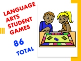 LANGUAGE ARTS STUDENT GAMES - 86 TOTAL