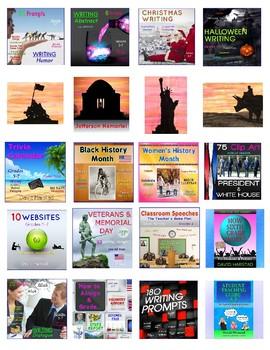 82  DOWNLOADS | Language, Math, Social Studies, Science, Internet... (K-8)