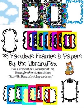 75 Fabulous Frames and Papers For Commercial and Personal Use