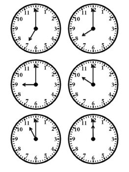75 Followers FREEBIE! Telling Time