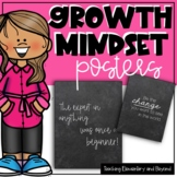 75 Chalk Growth Mindset Posters