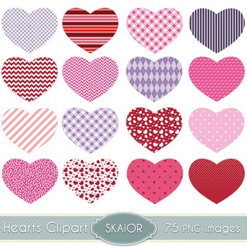photo regarding Printable Valentines Hearts named Hearts Clipart Washi Hearts Clip Artwork Sbooking Printable Valentines