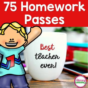 75 Homework Passes for All Seasons & Reasons