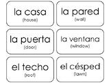75 Printable Household Items in Spanish Flashcards. Foreig
