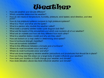 75 Science Discussion Starters and Essential Questions (Middle/High)