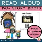 Read Aloud Picture Books 150 Story Time Read Aloud for kids QR Codes & Weblinks