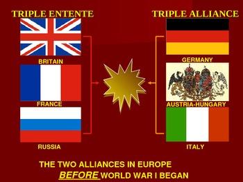 WORLD UNIT 11 LESSON 1b. WWI#1: Alliances POWERPOINT