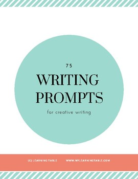 75 Writing Prompts for Creative Writing