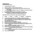 Pride and Prejudice: 75-item AP-style objective reading test