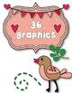 Bunny & Birdie LOVE Clipart ~ Commercial Use OK