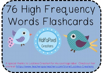 76 High Frequency Popcorn Sight Words Flashcards