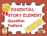 66 ESSENTIAL STORY ELEMENTS QUESTION POSTERS AND TASK CARDS