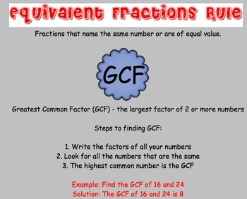 7.7 Equivalent Fractions - Everyday Math, Grade 4