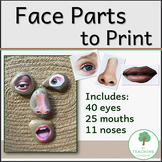 77 Face Parts to Print for Build-a-Face Loose Parts