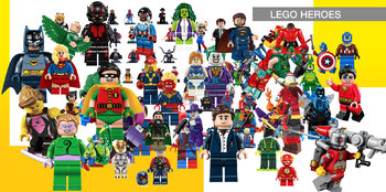 77 Lego Heroes ClipArt - Digital , PNG, image, picture