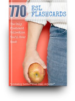 770 Printable ESL Flashcards: The Only Collection You Will EVER Need!