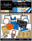 777 Basketball Bundle 2 {Graphics for Commercial Use}