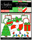 777 Christmas Clipart Bundle {A Hughes Design}