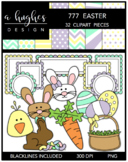 777 Easter Clipart Bundle {A Hughes Design}