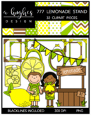 777 Lemonade Stand Clipart Bundle {A Hughes Design}