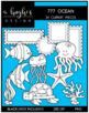 777 Ocean Clipart Bundle {A Hughes Design}