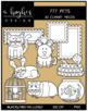 777 Pets Clipart Bundle {A Hughes Design}
