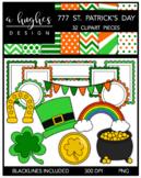 777 St. Patrick's Day Clipart Bundle {A Hughes Design}