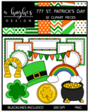777 St. Patrick's Day Clipart Bundle {A Hughes Design}