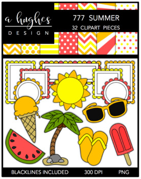 777 Summer Bundle {Graphics for Commercial Use}